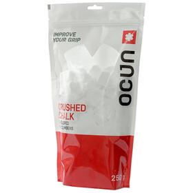 Ocun Chalk Crushed - Magnésie - 250g rouge/blanc